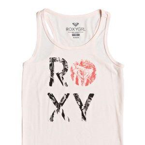 ROXY GIRL Island Palm Racerback Tank Top 10/M